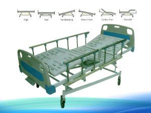 تخت بیمارستانی 2600 | تخت بیمار | تخت مریض