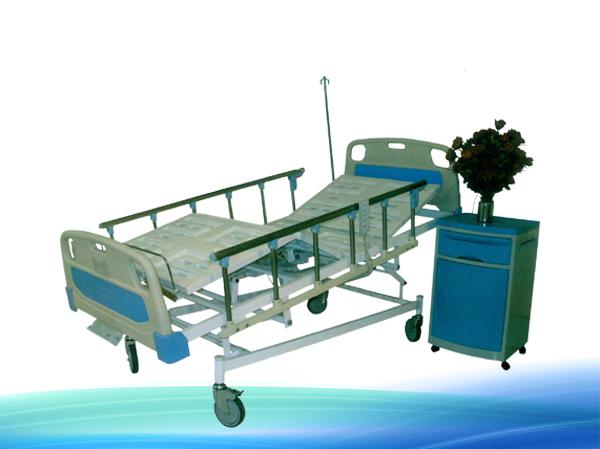 شکن در تخت بیمارستانی
