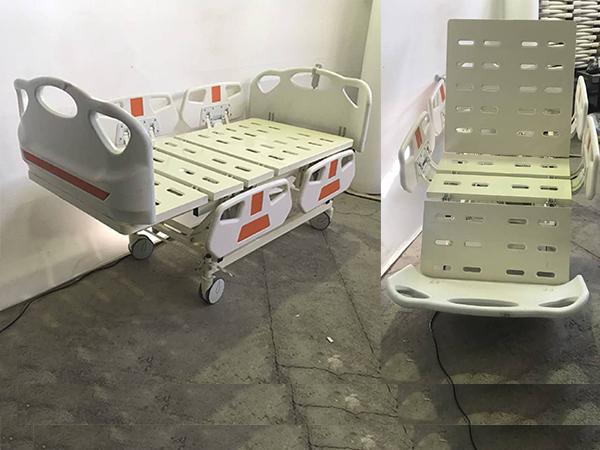 تخت بیمارستانی سه شکن برقی صندلی شو - مدل 2050